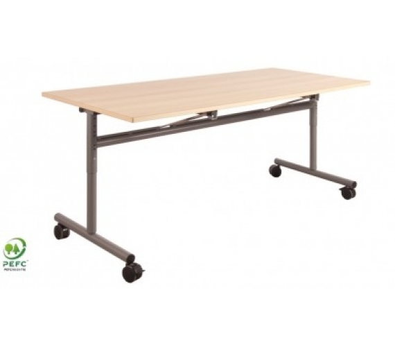 Mobilier restauration scolaire cantine table quipement for Bureau 130x50